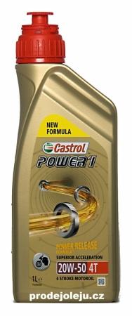 Castrol Power 1 20W-50 4T - 4x1L