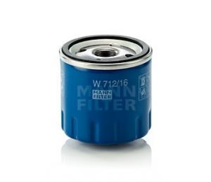 Olejový filtr MANN W712/16 - 1 ks