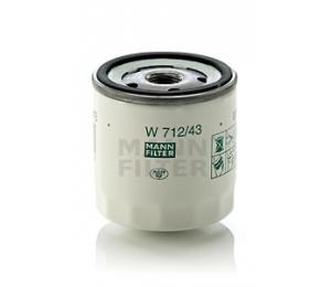 Olejový filtr MANN W712/43 - 1 ks
