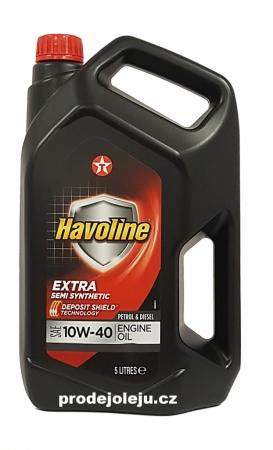 Texaco Havoline Extra 10W-40 - 5L