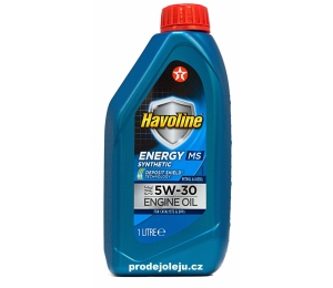 Texaco Havoline Energy MS 5W-30 - 1L