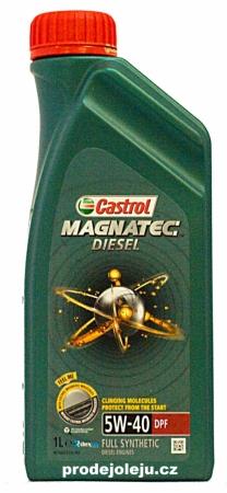 Castrol Magnatec Diesel 5W-40 - 1 litr