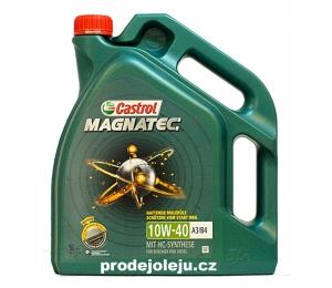 Castrol Magnatec 10W-40 A3/B4 - 5 litrů