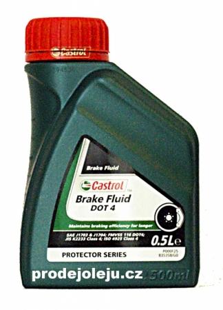 Castrol Brake Fluid DOT 4 - 500 ml