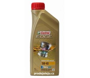 Castrol Edge Titanium 5W-40 - 1 litr