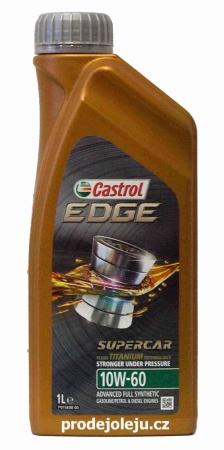Castrol EDGE Titanium FST SUPERCAR 10W-60 - 5x1L