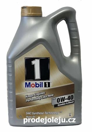 Mobil1 FS 0W-40 - 5L