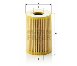 Olejový filtr MANN HU610X - 1 ks