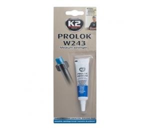 K2 fixátor šroubových spojů, medium, modrý - 6 ml