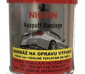 NIGRIN tmel na opravu výfuku s textilií - 200g