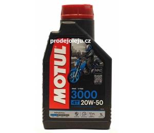 MOTUL 3000 4T 20W50 - 1L