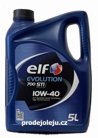 ELF Evolution 700 STI 10W-40 - 5 litrů