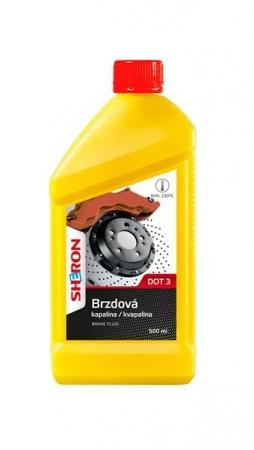 Sheron DOT 3 brzdová kapalina - 500 ml