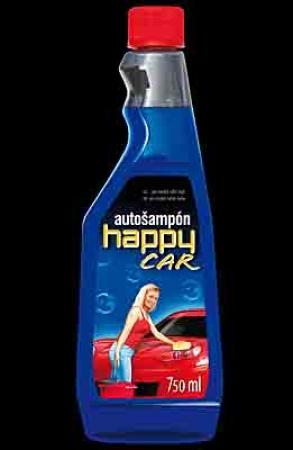 HAPPY CAR autošampon - 750 ml