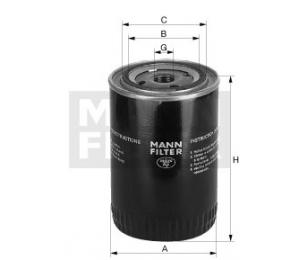 Olejový filtr MANN MW810 - 1 ks