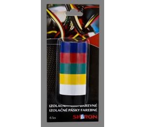SHERON pásky izolační barevné 6 ks - 1 balení