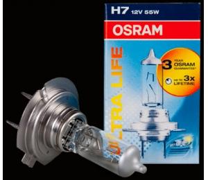 Osram H7 Ultra Life 12V, 55W - 1 ks